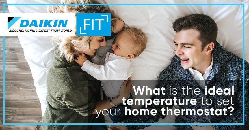 What is the ideal temperature to set your home thermostat?