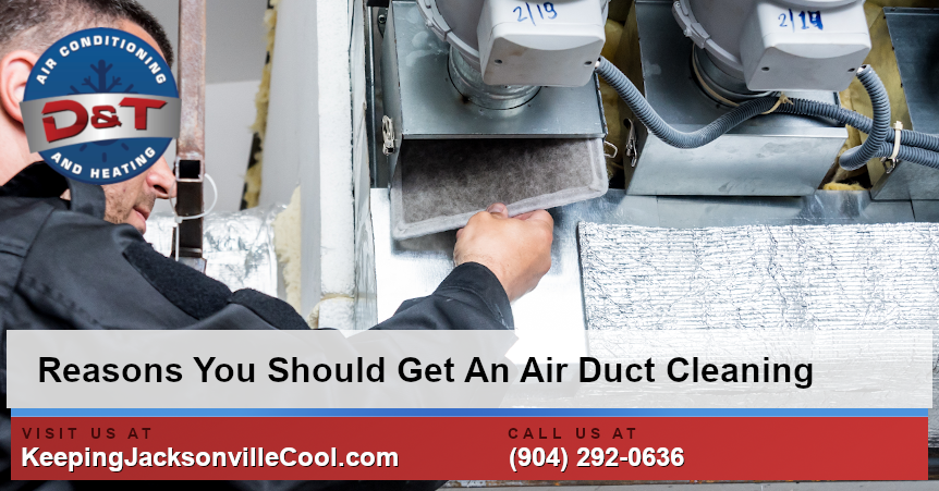 Reasons You Should Get An Air Duct Cleaning