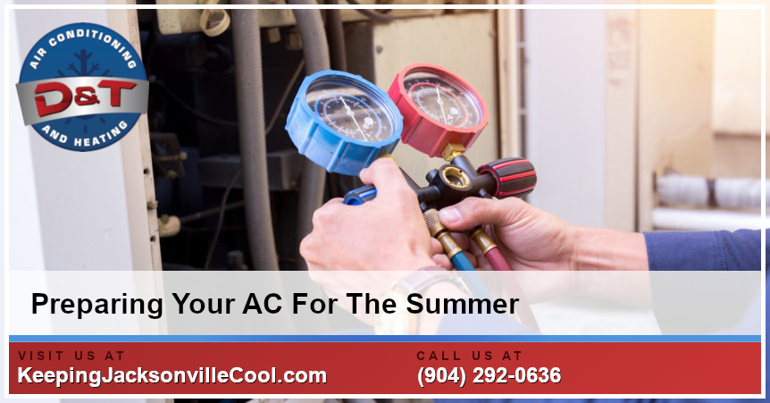 Preparing Your Air Conditioner For The Summer